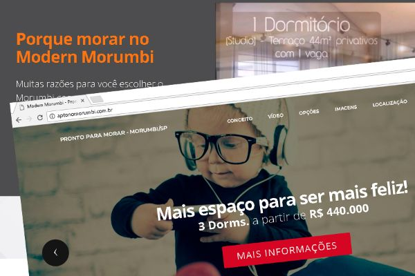 Landpage do Mordern Morumbi